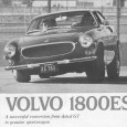 The Volvo P1800 was already stylistically outdated when it finally went into production in 1961, having been designed back in 1957. Yet it soldiered on all through the sixties, with […]