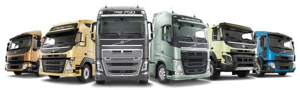 Volvo trucks cabover range