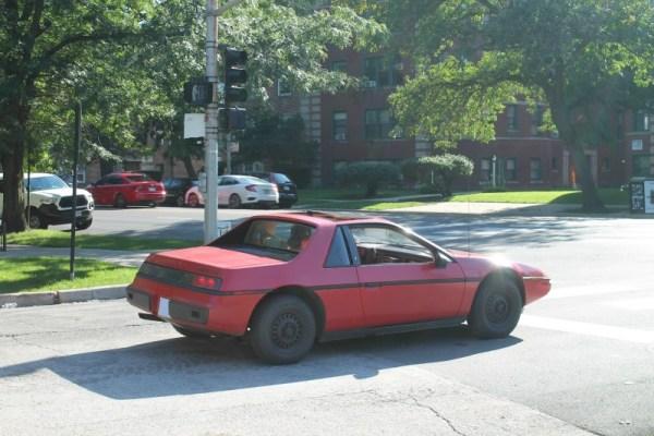1984 Pontiac Fiero 2M4. Rogers Park, Chicago, Illinois. Sunday, September 13, 2020.