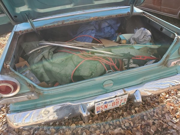 The trunk contents.