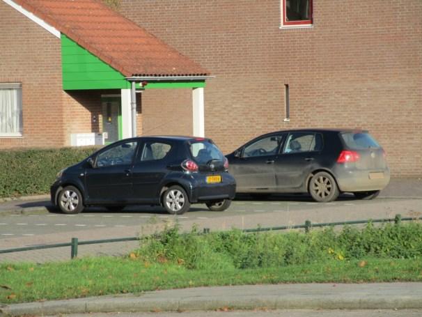 2012 Toyota Aygo and 2004 VW Golf