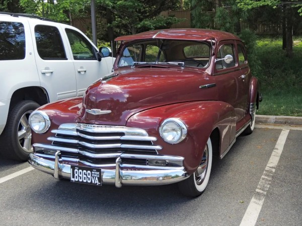 1947 Chevrolet Stylemaster left front