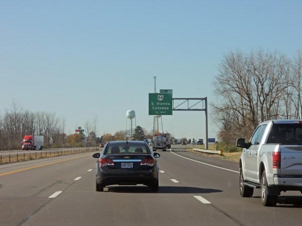 I-70 Westbound Ohio