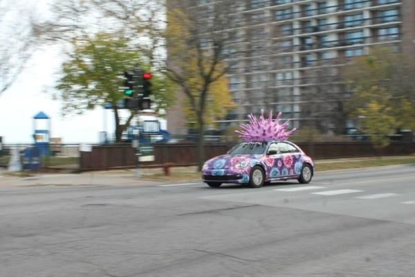 c. 2011 VW Beetle. Edgewater, Chicago, Illinois. Saturday, November 21, 2020.