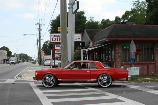 1977 Chevrolet Caprice coupe.