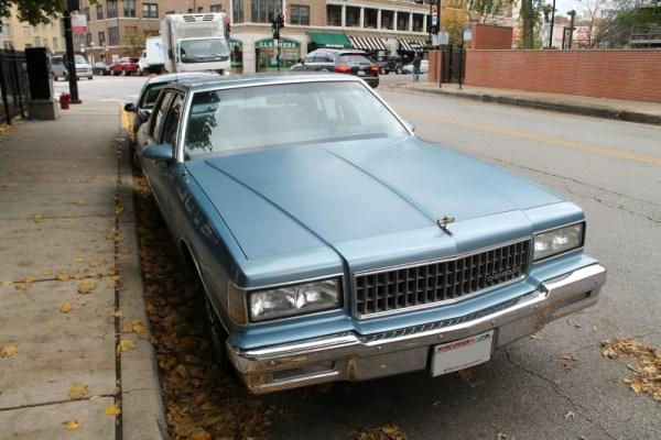 1989 Chevrolet Caprice.