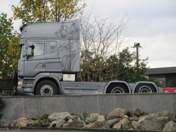 Scania R560 6x2 tractor