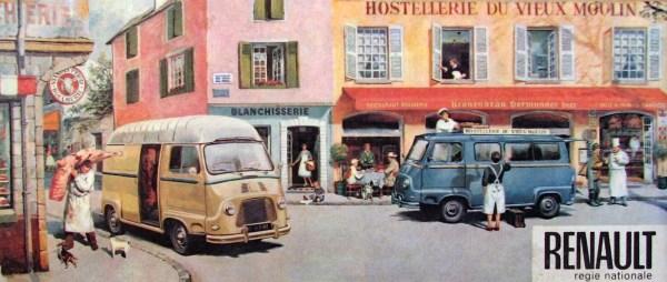 Renault Estafette Brochure