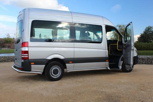 wheelchair-accessible van - 1