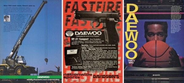 Daewoo Group Ads