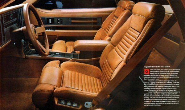 1988 Buick Reatta brochure photo, courtesy of www.oldcarbrochures.com