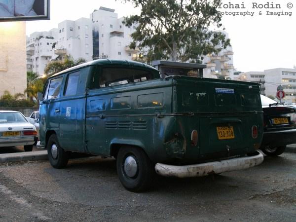 1971 Green Volkswagen T2 Pickup