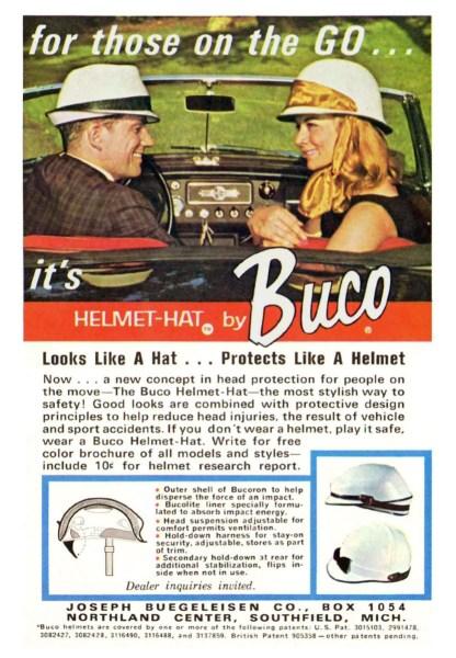Buco Helmet-Hat ad 1965