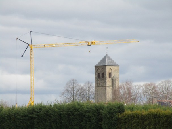 ZEMAG crane and very old tower