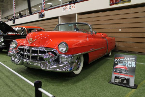 1953 Cadillac Series 62 convertible.