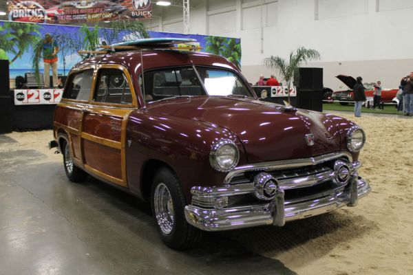 "1951 Ford Country Squire ""Woody"" wagon."