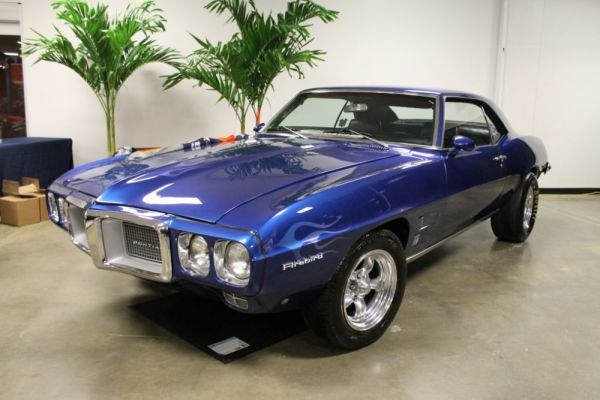 1969 Pontiac Firebird.