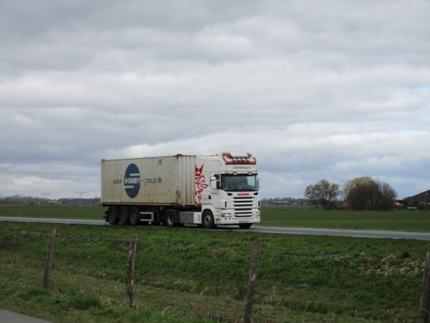Scania R 580 4x2 from Germany