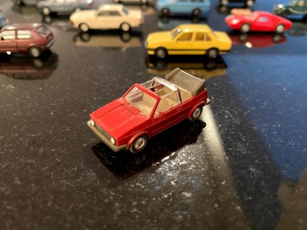 Wiking HO VW Golf Cabrio MkI