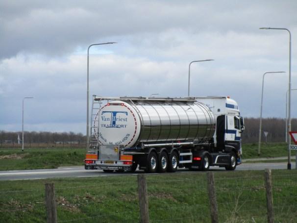 DAF XF 480 FT 4x2 - Magyar tanker semi-trailer