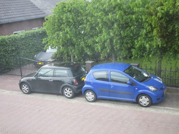 2005 Mini One vs 2009 Toyota Aygo - 3