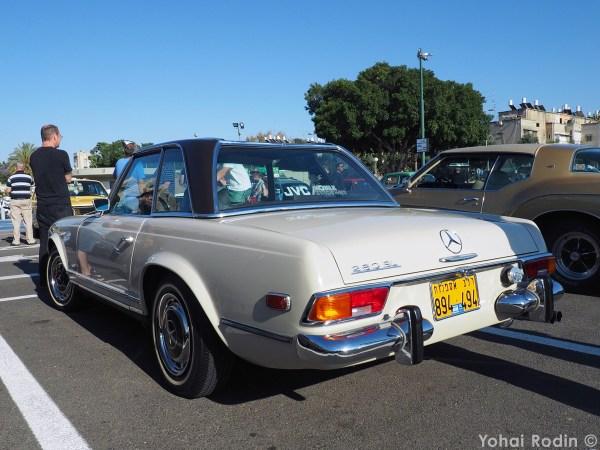 white Mercedes-Benz W113