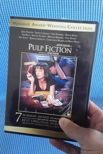 """Pulp Fiction"" DVD"