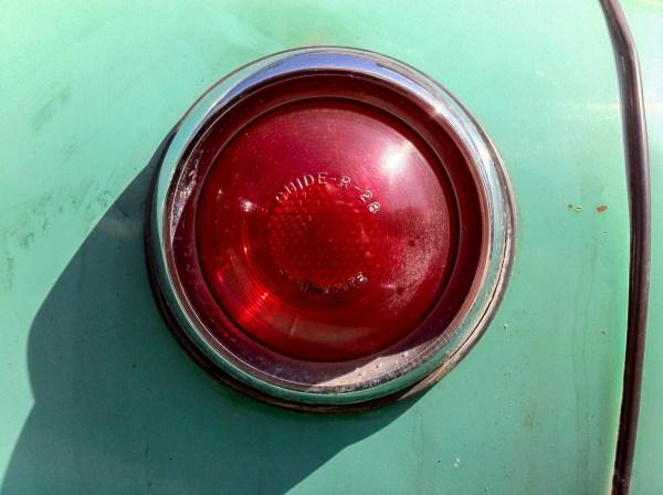 1948 Pontiac taillight w/Stimsonite
