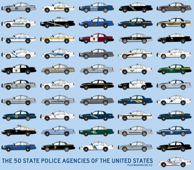 Ford Crown Victoria Bear Spotters Guide