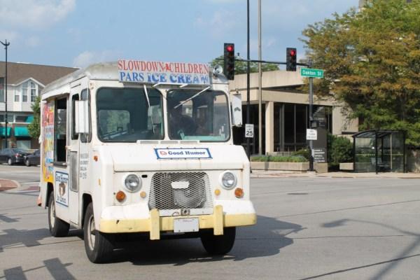 Good Humor ice cream truck. Skokie, Illinois. Sunday, August 26, 2018.