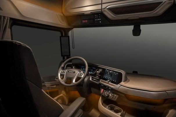 2021 DAF XG+ interior