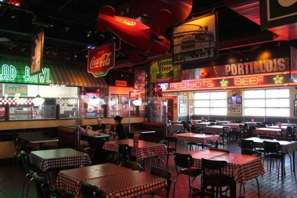 Portillo's Hot Dogs. Tempe, Arizona. Monday, July 5, 2021.