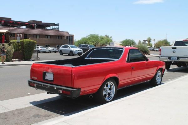 1981 GMC Caballero. Chandler, Arizona. Monday, July 5, 2021.