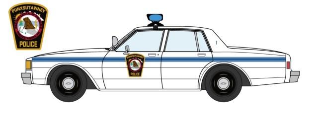 1980 Chevrolet Caprice Punxsutawney Police