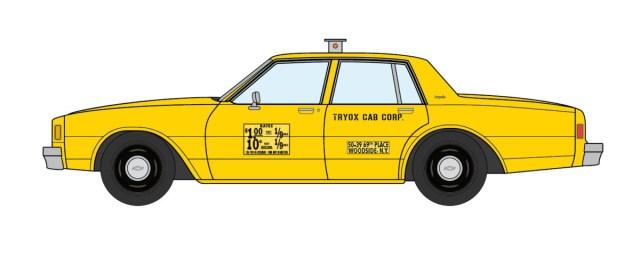 1981 Chevrolet Impala NYC Taxi