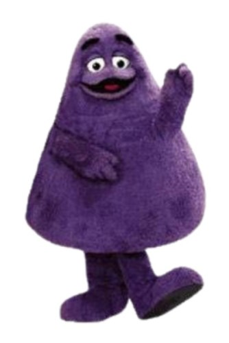 Grimace, as sourced from the internet