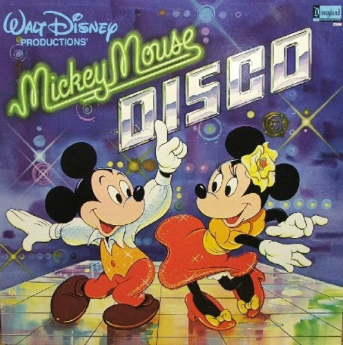 """""""Mickey Mouse Disco"""" album cover, as sourced from the internet."""
