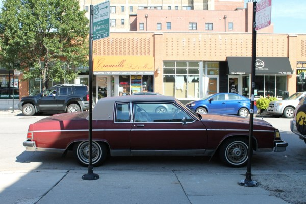 1982 Buick Electra Park Avenue. Edgewater, Chicago, Illinois. Sunday, September 20, 2015.