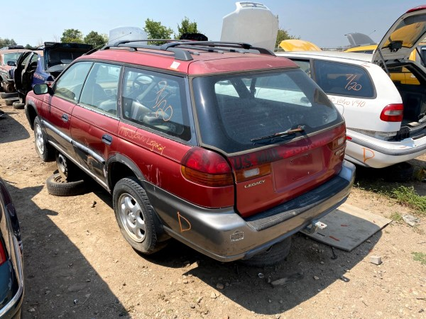 1996 Subaru Legacy Outback Homemade Right Hand Drive