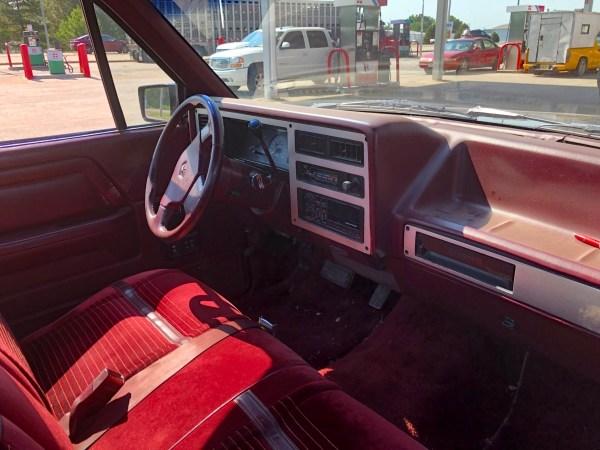 1989 Dodge Dakota Sport Convertible interior