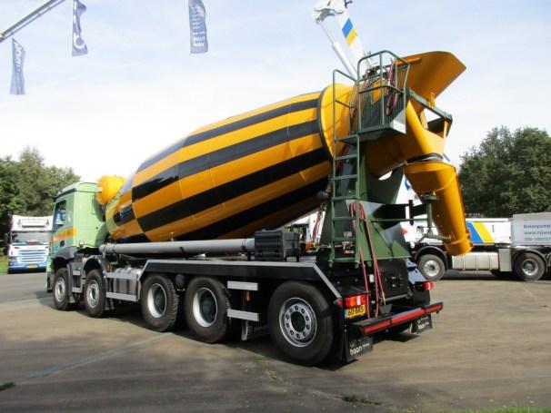 2021 MB Arocs 10x4 - Mulder H-16 concrete mixer - 1