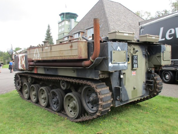 Tracked military vehicle - 2
