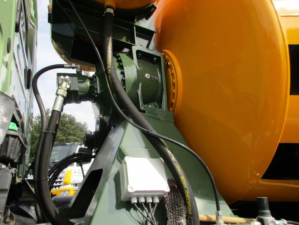 2021 MB Arocs 10x4 - PMP hydraulics - 2