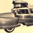 Paul did a short post on this vehicle last year but I thought it was such a 1950's oddity that it deserved a little deeper dive.