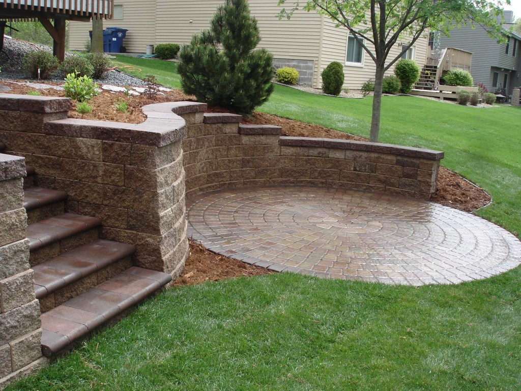 Retaining Wall Designs Minneapolis | Minneapolis ... on Patio Stone Wall Ideas  id=61260