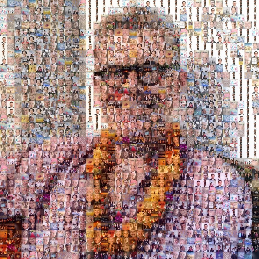 Bryce Courtney Mosaic