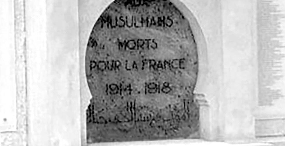 Le caveau oublié des poilus musulmans