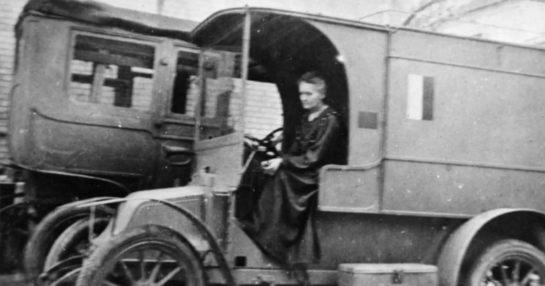 En 14-18, Marie Curie se rend utile et développe la radiologie médicale sur le front