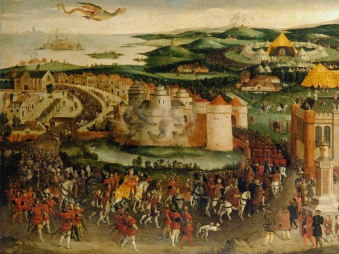 Camp du Drap d'or : lorsque Henri VIII défia François Ier à la lutte