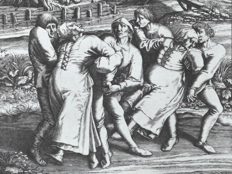 La peste dansante de 1518